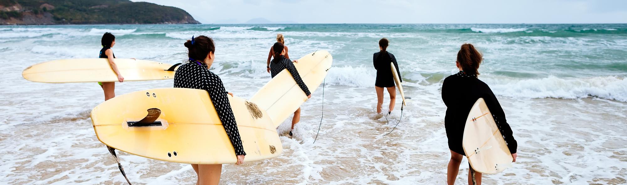 Actieve vakantie - surfen